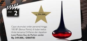promo parfum gratis oriflame 2013